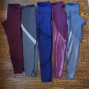 5 pairs of old Navy leggings